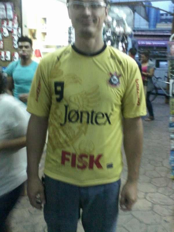 Camisa do Povo falsificada