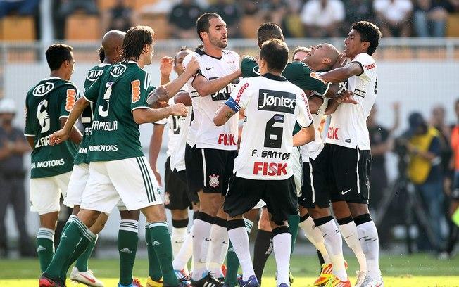 Treta entre jogadores: Palmeirenses queriam briga com o Liedson