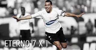 2005 - Corinthians 7x1 Santos