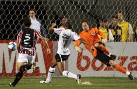 Segundo gol do Corinthians sobre o São Paulo na goleada de 3x0