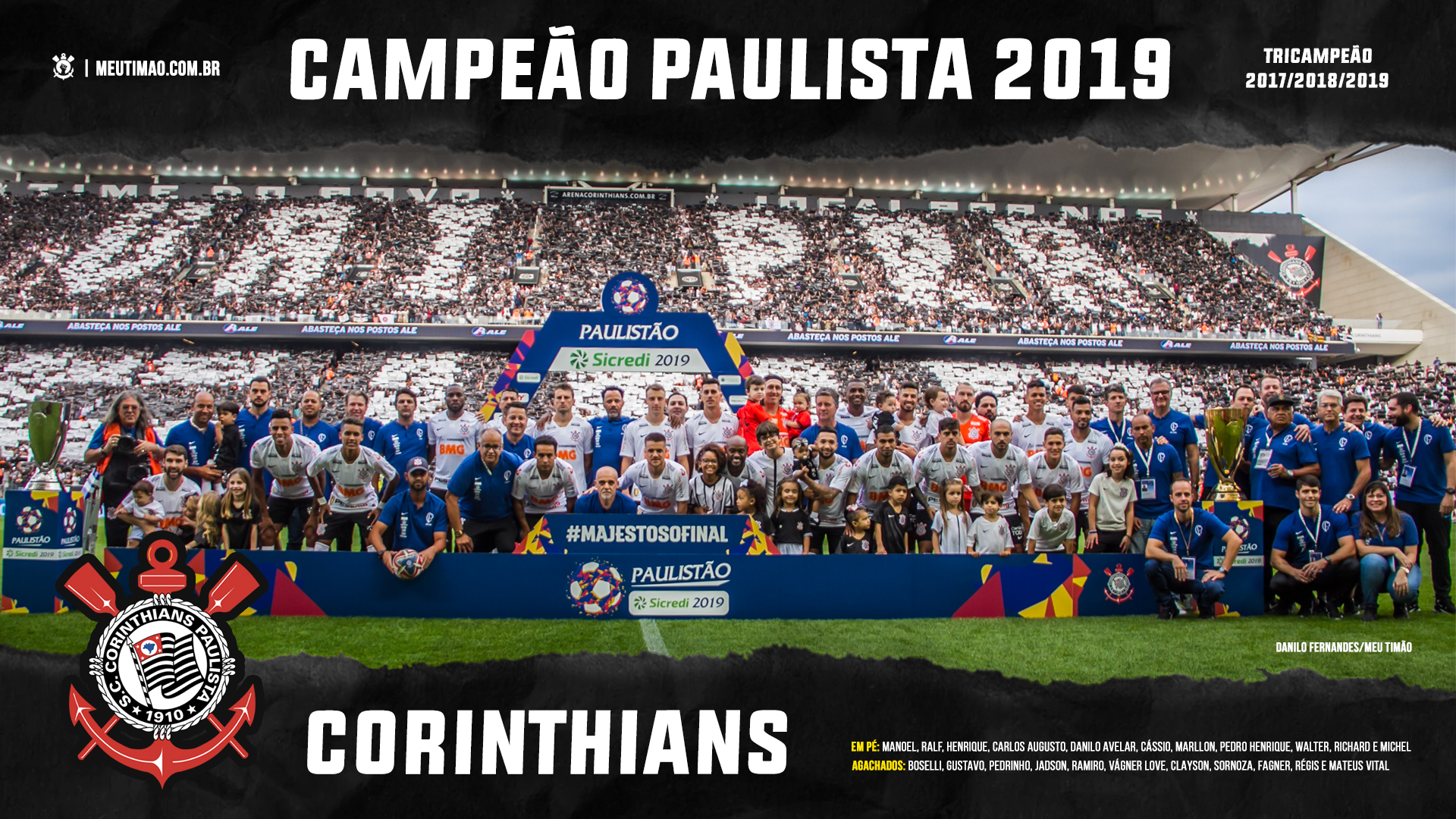 Papeis De Parede E Capas Para Facebook Do Corinthians Tricampeao