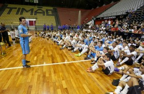 Guitta palestra para todas as categorias do futsal