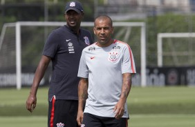 Emerson Sheik no treino do Corinthians