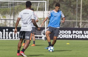 Matheus Matias segue treinando no CT Joaquim Grava