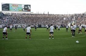 0aadcc94a3 ... Corinthians encerra preparação para decisão contra o Flamengo.  Jogadores fizeram treino na Arena Corinthians