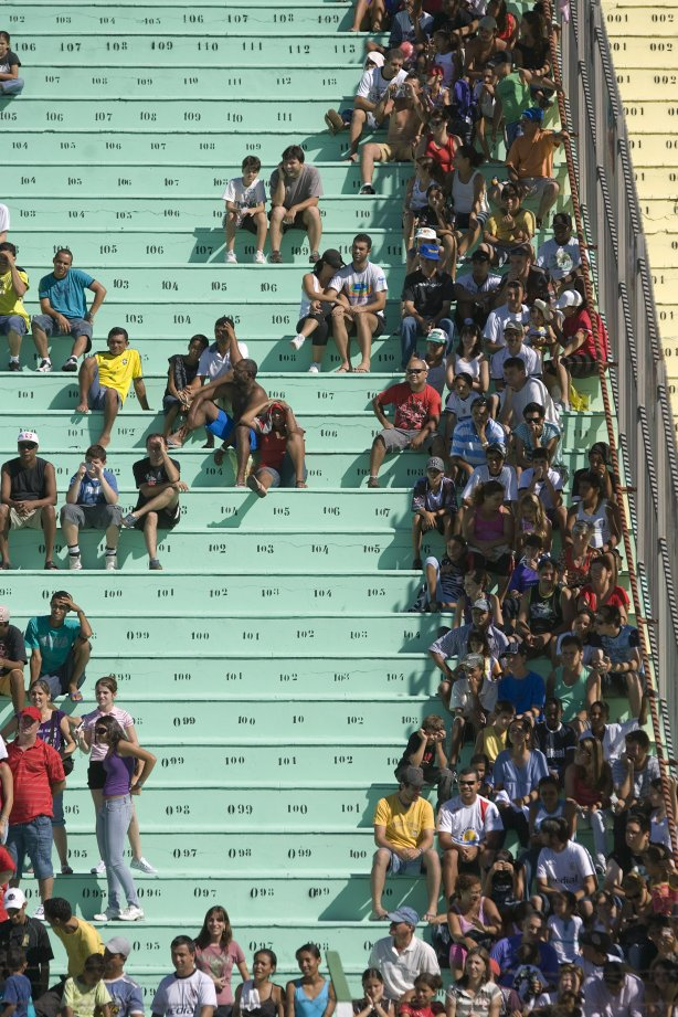 8b1ee3b2b035f Durante o treino realizado esta manhã no estádio Eduardo José Farah. O time  joga amanhã