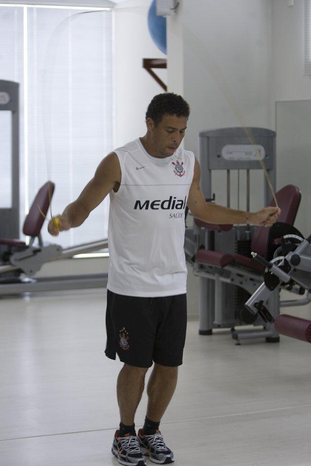 e9f241dfa3a1b Durante o treino realizado esta manhã em uma academia na cidade de Marilia.