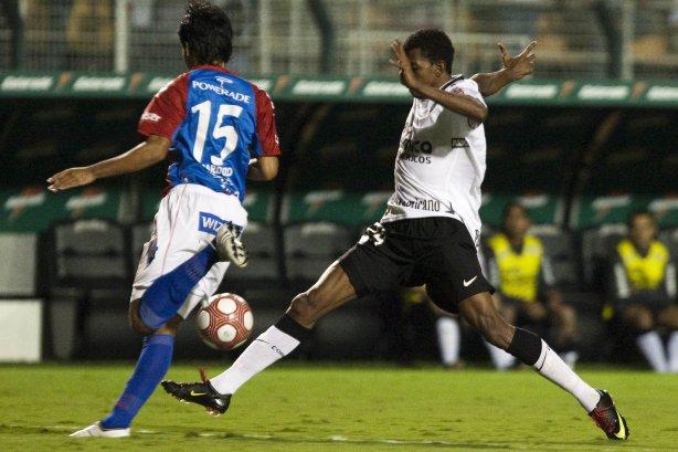 CORINTHIANS BRASIL X CERRO PORTENHO PARAGUAI - em um lance da partida  realizada esta noite no estádio ... b265b49955ea5