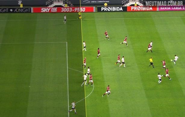 Romero estava em posição regular, mas arbitragem marcou impedimento