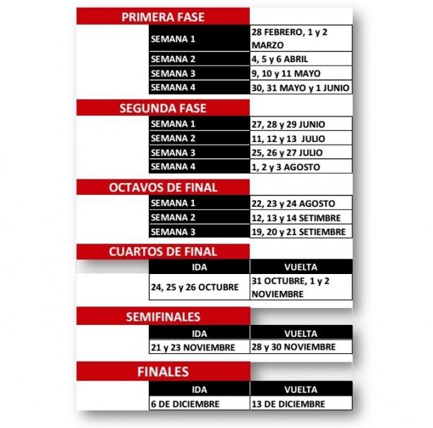 Calendário da Copa Sul-Americana