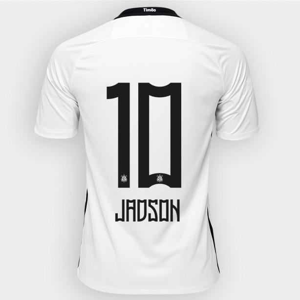 5db2316a61 Loja do Corinthians já vende camisa 10 com nome de Jadson para 2017