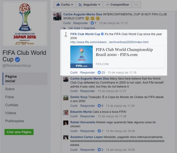Em parabéns a Vampeta, FIFA reafirma: Mundial de clubes só