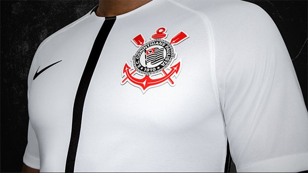 Novo uniforme branco do Corinthians