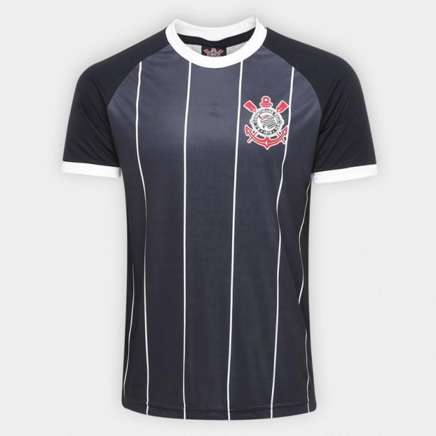 Corinthians lança nova camiseta  preta ad7aabb1bc3cd