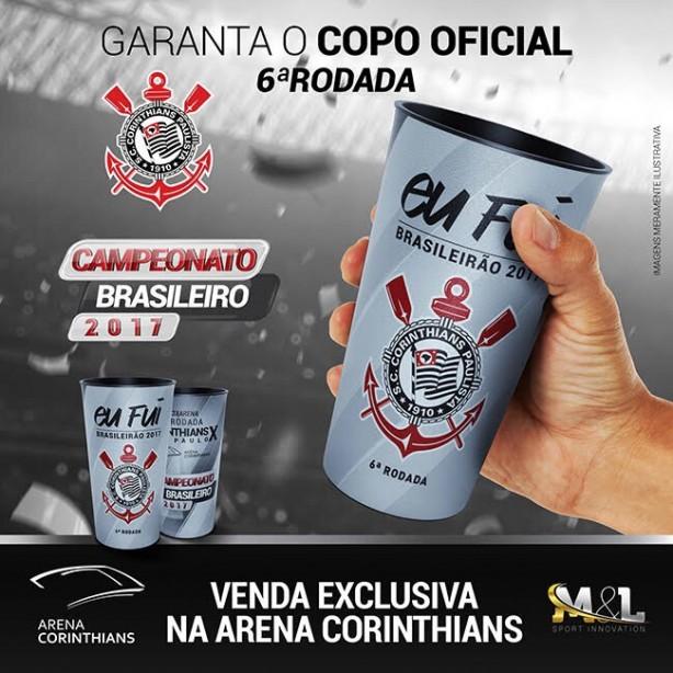 Corinthians anuncia 41 mil ingressos vendidos para o clássico