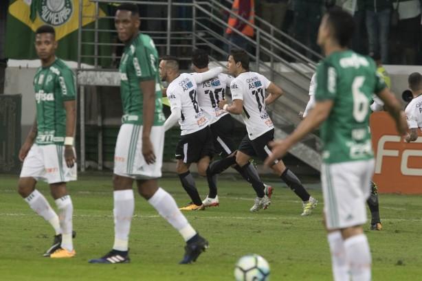 Linda a comemoração dos jogadores do Corinthians 11038089bb7b9