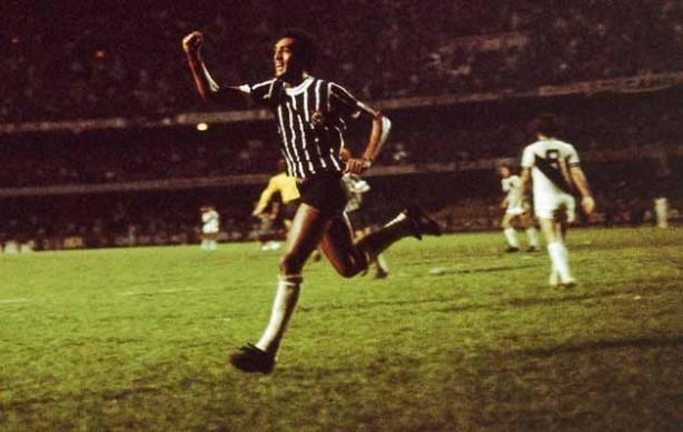 Basílio foi o autor do gol que rendeu o título do Campeonato Paulista em 1977