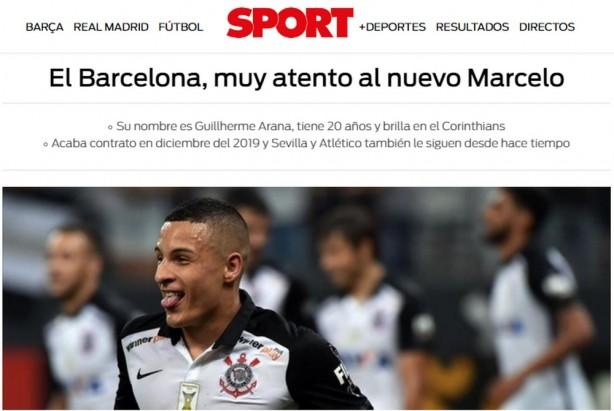 Barcelona acompanha situação de Arana, o