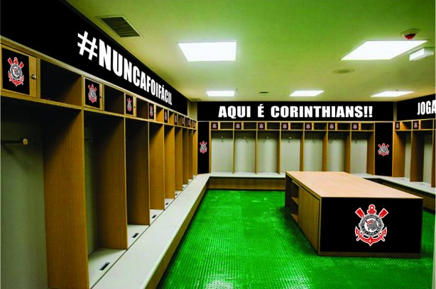 Modelo utilizado pelo marketing do Corinthians para preparar a surpresa