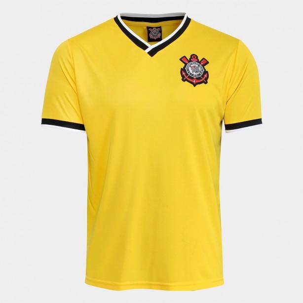ShopTimão relança camisa amarela do Corinthians por R 89 a85739f7ba837