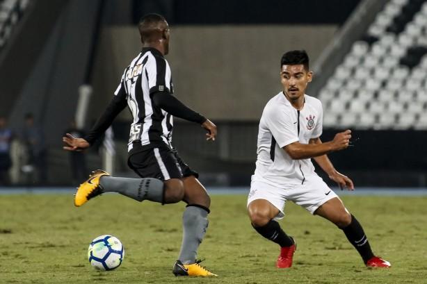 Fabrício Oya durante segundo jogo da semifinal contra o Botafogo ... 17359f0903b6c