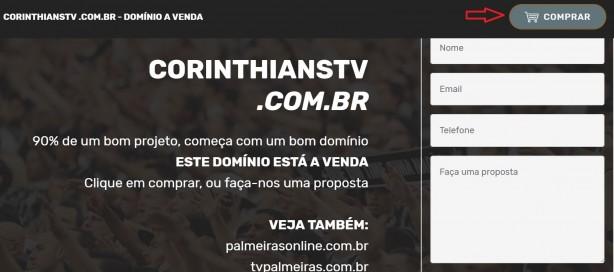 a0ef00afdaf7a Torcedor do Palmeiras registra domínio de site ligado ao Corinthians ...