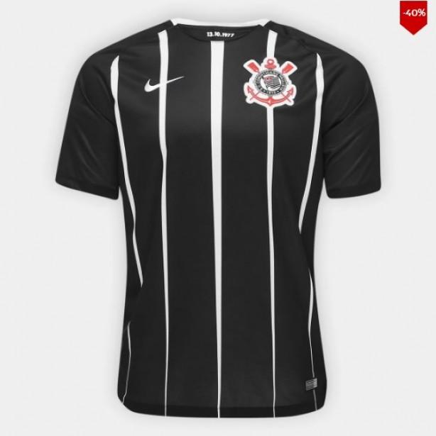 693605c532 Camisa Corinthians II 17 18 s nº Torcedor Nike Masculina