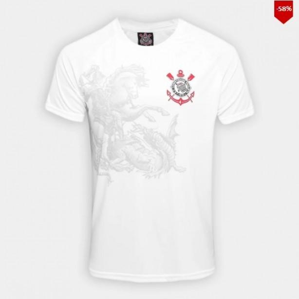 Camisa Corinthians São Jorge Edição Limitada Masculina 8def3788bfa02