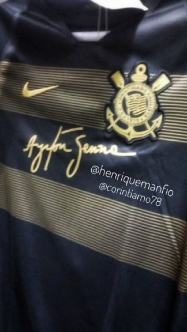 Vaza foto da nova terceira camisa do Corinthians nas redes sociais ... 6482cf8267a0a