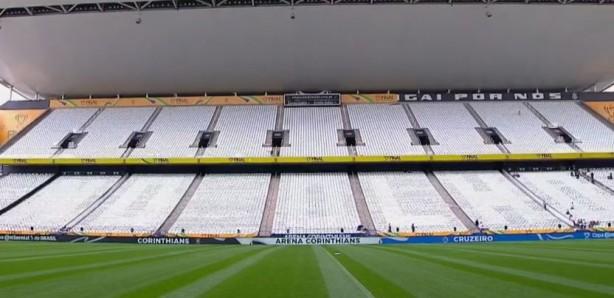 Mosaico Da Finalíssima Do Corinthians Na Copa Do Brasil Tem