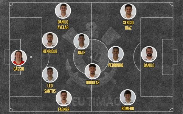 Jair esboça escalação do Corinthians com Díaz e Danilo contra o ... 9169707606c15